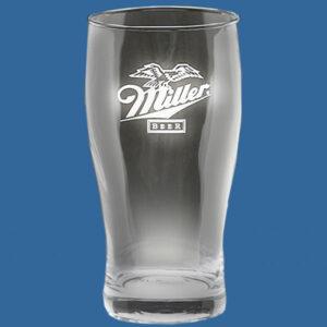 Value Beer Glass 580ml, Quality Sandblast Engrave 1 side, Quantity Discounts