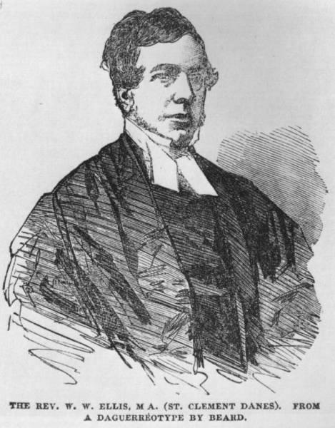 Early Image of the Reverend William Webb Ellis