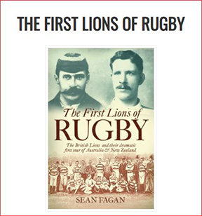 """Book """"The First Lions of Rugby"""""""