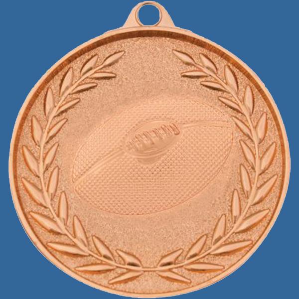 AFL Aussie Rules Medal Bronze Wreath Series MX912Bt
