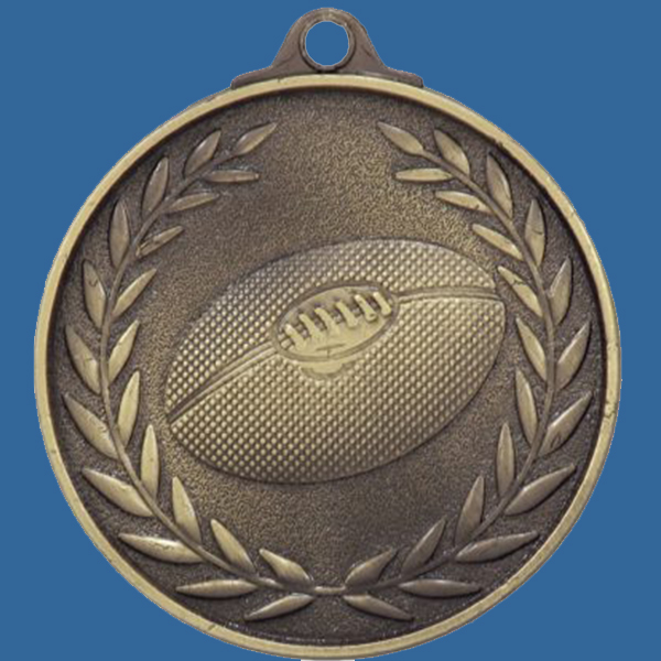 AFL Aussie Rules Medal Gold Wreath Series MX812Gt