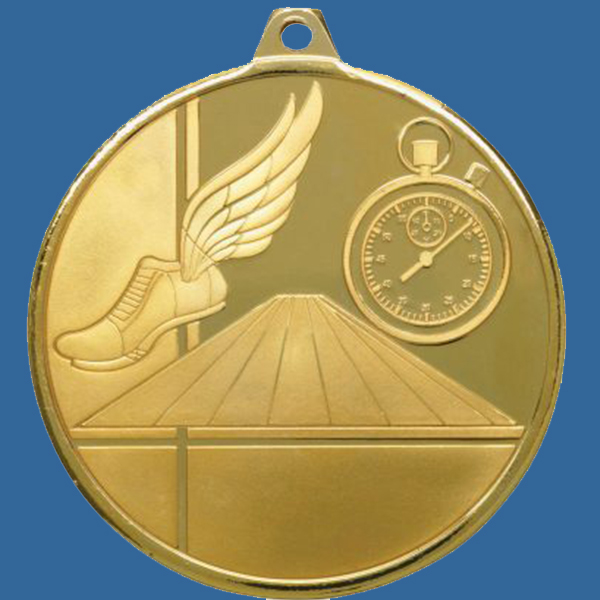 Athletics Track Medal Gold Glacier Frosted Series MZ901Gt