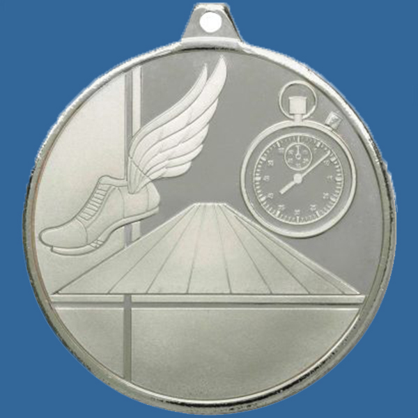 Athletics Track Medal Silver Glacier Frosted Series MZ901St