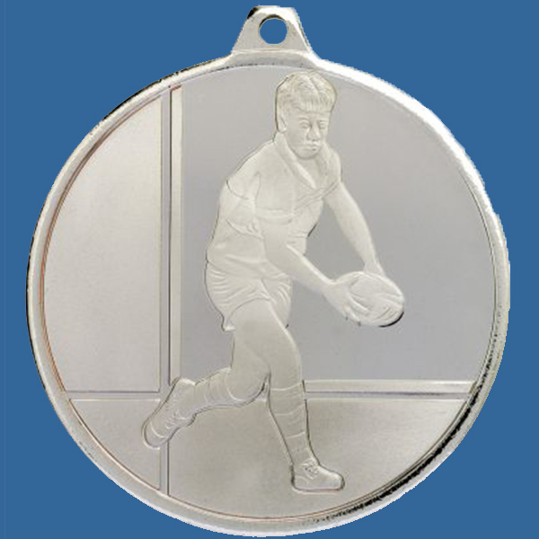 Rugby Medal Silver Glacier Frosted Series MZ913St