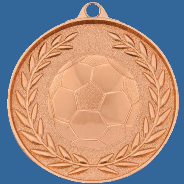 Soccer Football Medal Bronze Wreath Series MX904Bt