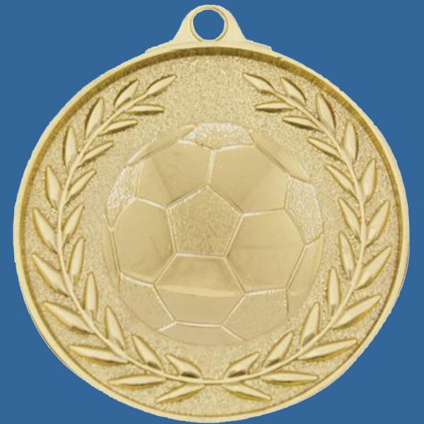 Soccer Football Medal Gold Wreath Series MX904Gt